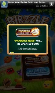 Birzzle - Coming soon, Pandora mode