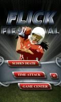 Flick Field Goal - Menu