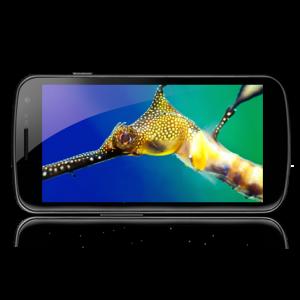 Galaxy Nexus Super HD AMOLED Display