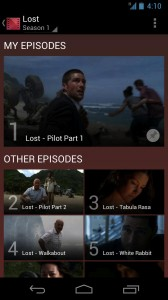 Google Play Movies and TV My Episodes
