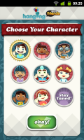 Hanging with Friends - Choose character