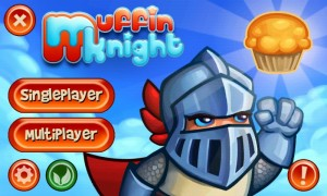 Muffin Knight - Main menu