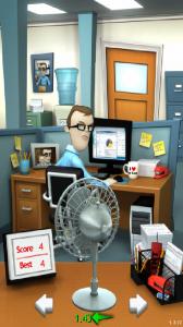 Office Jerk Preparing to Throw the Fan