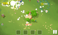 Pigs in Trees - Super weapons create a fantastic level of carnage