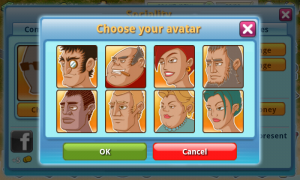 Rock The Vegas - Choose your avatar
