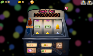 Rock The Vegas - Fruit machine view (2)