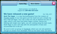 Rock The Vegas - Game blog
