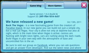 Rock The Vegas - Game blog
