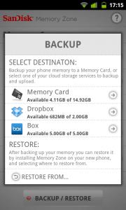 SanDisk - Backup Destination