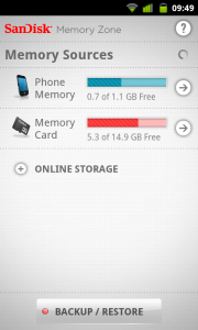 SanDisk - Memory Sources, Phone Memory and Memory Card