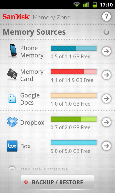 SanDisk Memory Zone – File Management App with Bonus of Syncing with the Cloud!