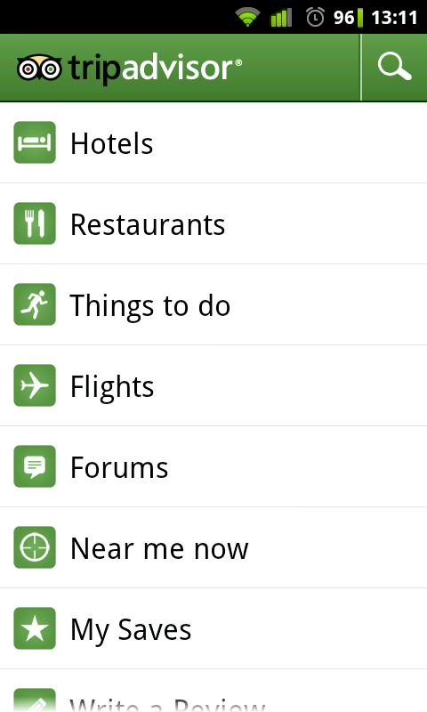 TripAdvisor a Traveler's Dream Companion App