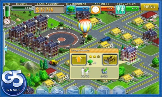 Virtual City a Complex Empire City Building Game for Android