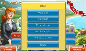 Virtual City - Help