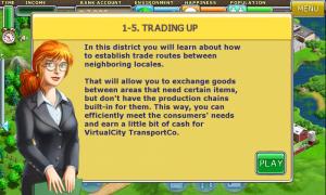 Virtual City - Level introduction