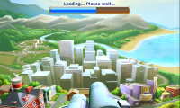 Virtual City - Loading splash page