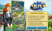 Virtual City - Prompt to buy full edition