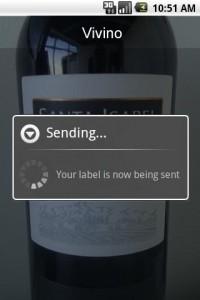 Vivino Taking Picture of Wine Label