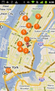 Weight Watchers Mobile Maps