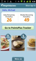 Weight Watchers Mobile Tracker