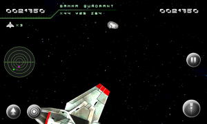 Asteroid 2012 - Easy to use controls and on-screen information that doesn't infringe on gameplay