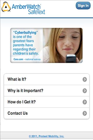 AmberWatch SafeText mDashboard App Aims to Keep Children Safe and Arms Parents with a Mobile Safety Monitoring Solution