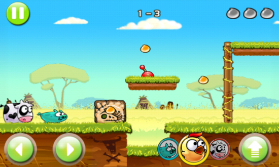 Angry Piggy (Adventure). Download this Venturesome Physics Puzzle Game!