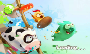 Angry Piggy (Adventure) - Loading splash screen
