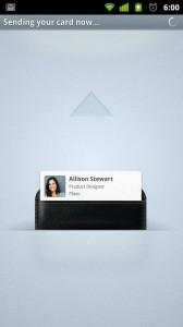 CardSharing - Card sending UI
