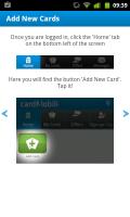 Cardmobili - Add new cards
