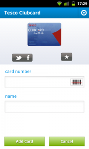 Cardmobili - Card creation