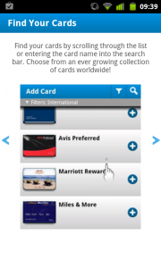 Cardmobili - Find your cards