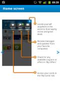 Cardmobili - Home screen tutorial