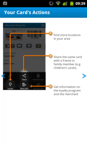 Cardmobili - Your cards actions