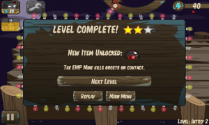 Carnival of Horrors - Level complete
