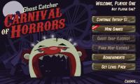 Carnival of Horrors - Menu