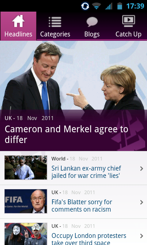 Channel 4 News Android App for Award-Wining UK News Station