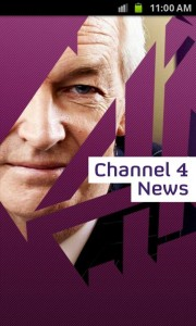 Channel 4 News - Splash screen