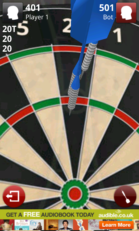 Darts 3D. Highly Addictive with Thriving Online Multi-player Gaming!