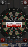Darts 3D - Leave game