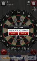Darts 3D - Leave game