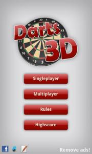 Darts 3D - Menu (1)