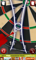 Darts 3D - View carefully zooms into target area