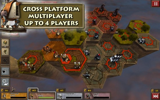 Greed Corp HD Turn-based Strategy Game Brings Console Quality 3D Graphics