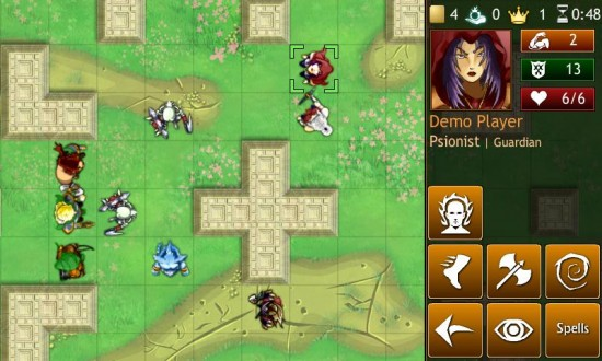 Hero Mages a Brave Multi-player Online Fantasy RPG Game