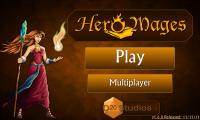 Hero Mages - Initial menu