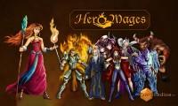 Hero Mages - Splash page