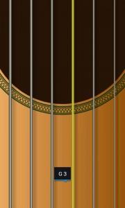 Jimi Guitar - String view