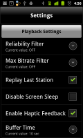 Livio Car Internet Radio Settings