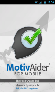 MotivAider - Splash screen